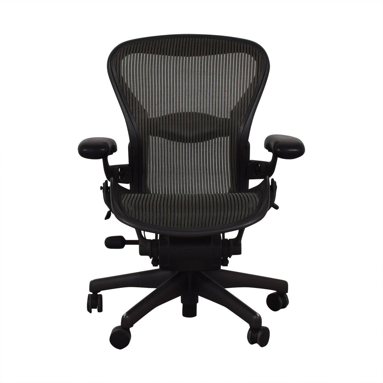 Herman Miller Herman Miller Aeron Black Office Chair nj