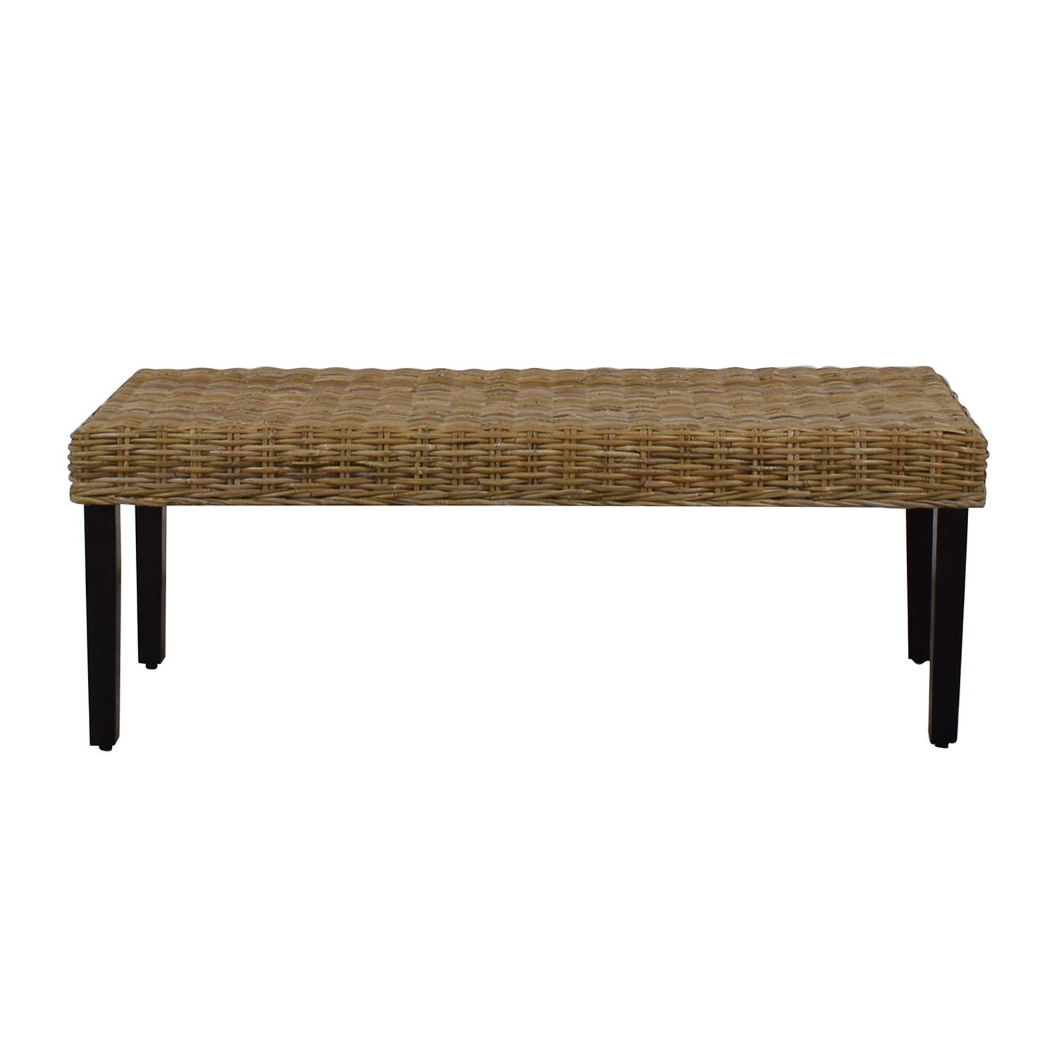 Admirable 74 Off Pier 1 Pier 1 Kubu Dining Bench Chairs Ocoug Best Dining Table And Chair Ideas Images Ocougorg