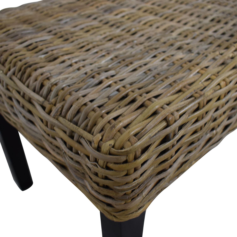 buy Pier 1 Kubu Dining Bench Pier 1 Chairs