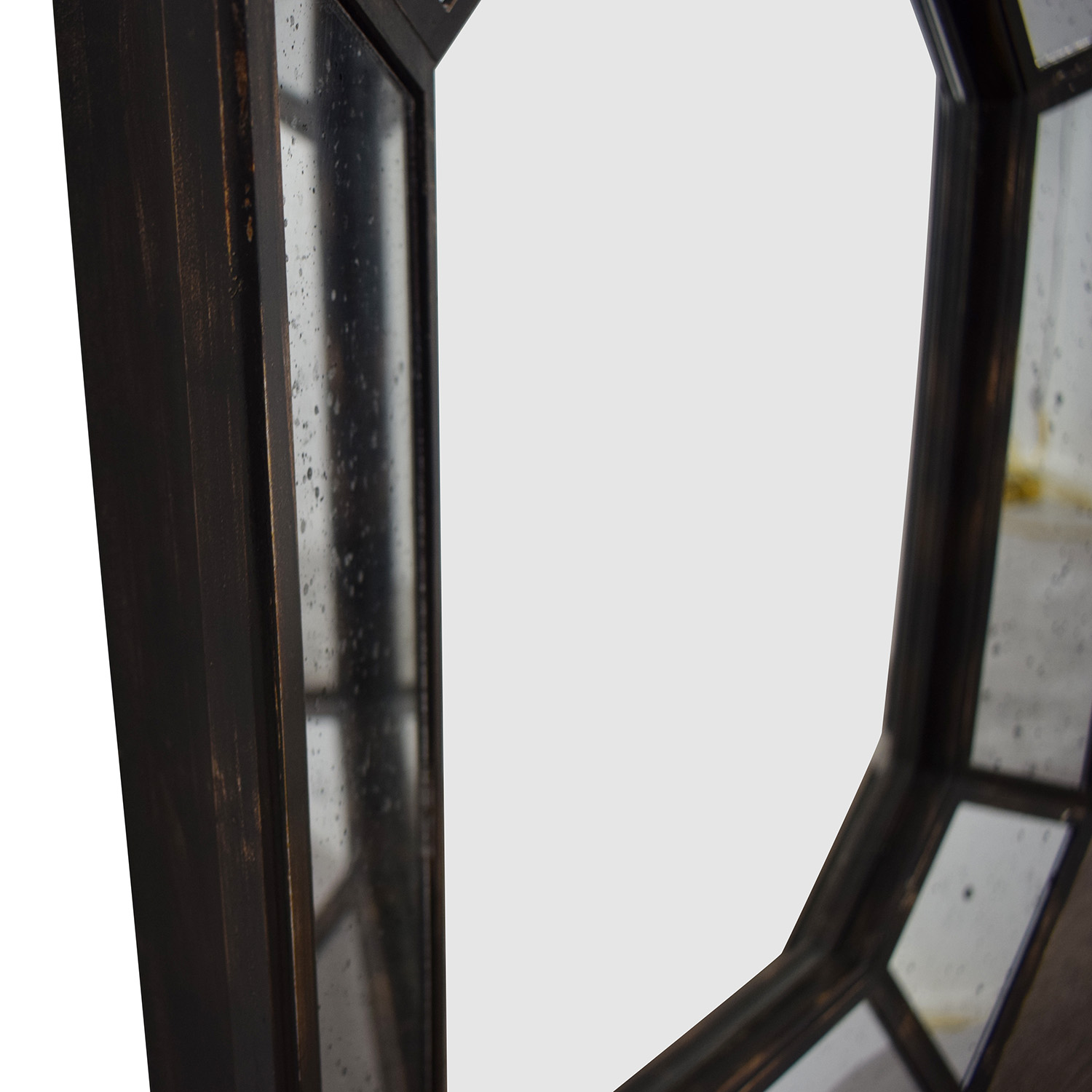 Vintage Geometric Wall Mirror for sale