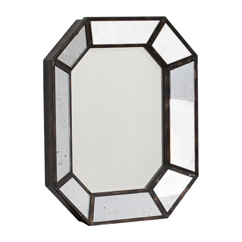 Vintage Geometric Wall Mirror dimensions