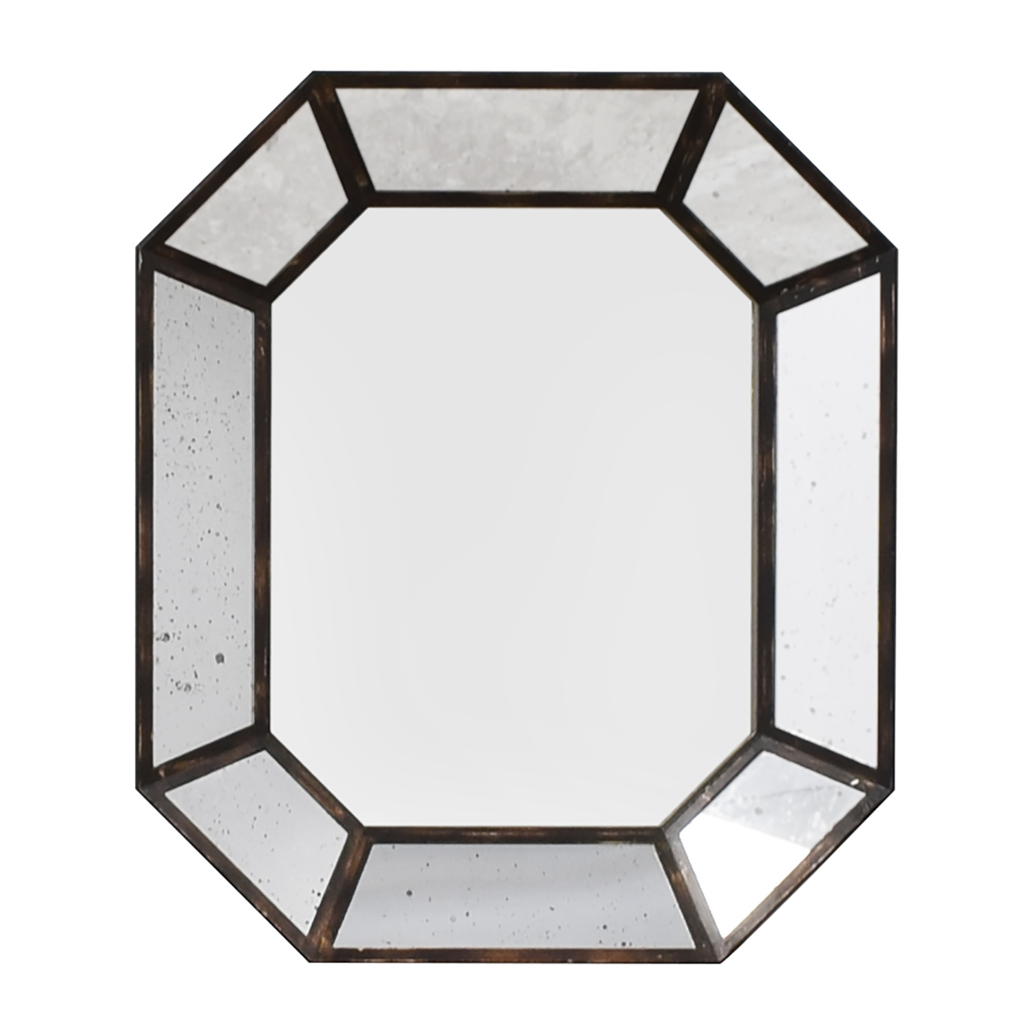 Vintage Geometric Wall Mirror