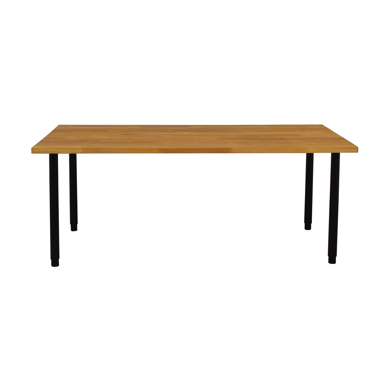 46 Off Ikea Ikea Gerton Table With Olov Legs Tables