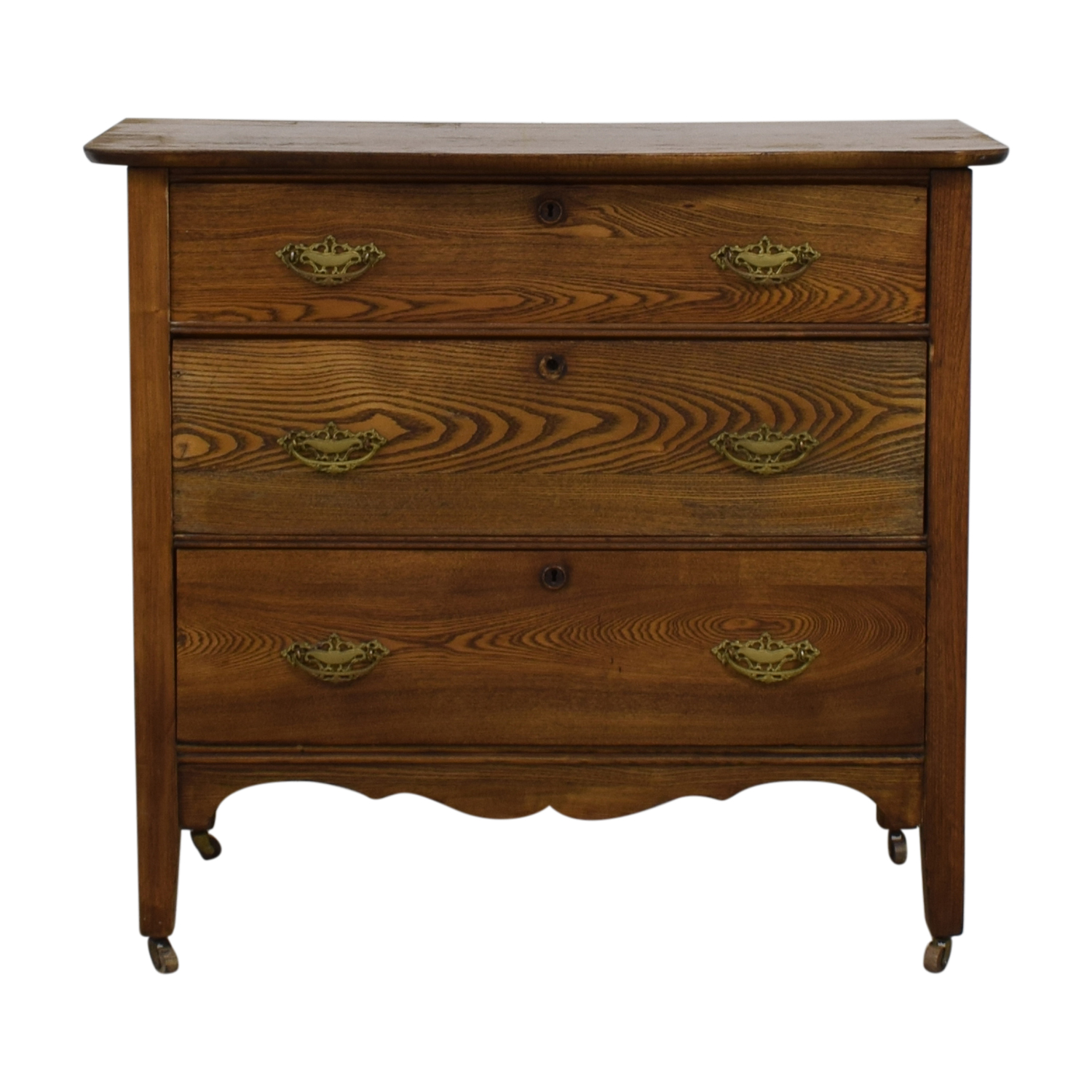 shop Vintage Three-Drawer Dresser  Dressers