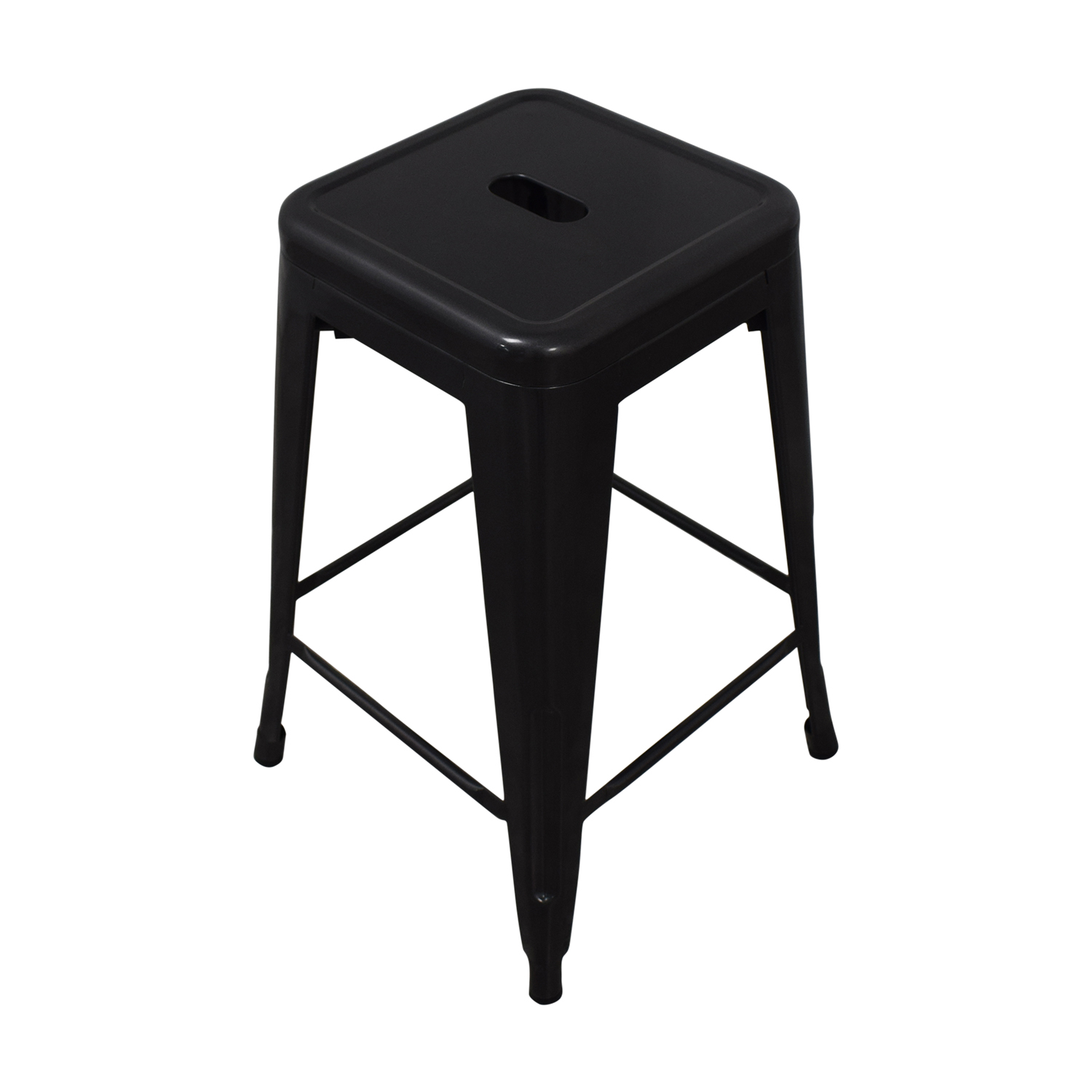 Titan Distressed Gunmetal Bar Stools Titan