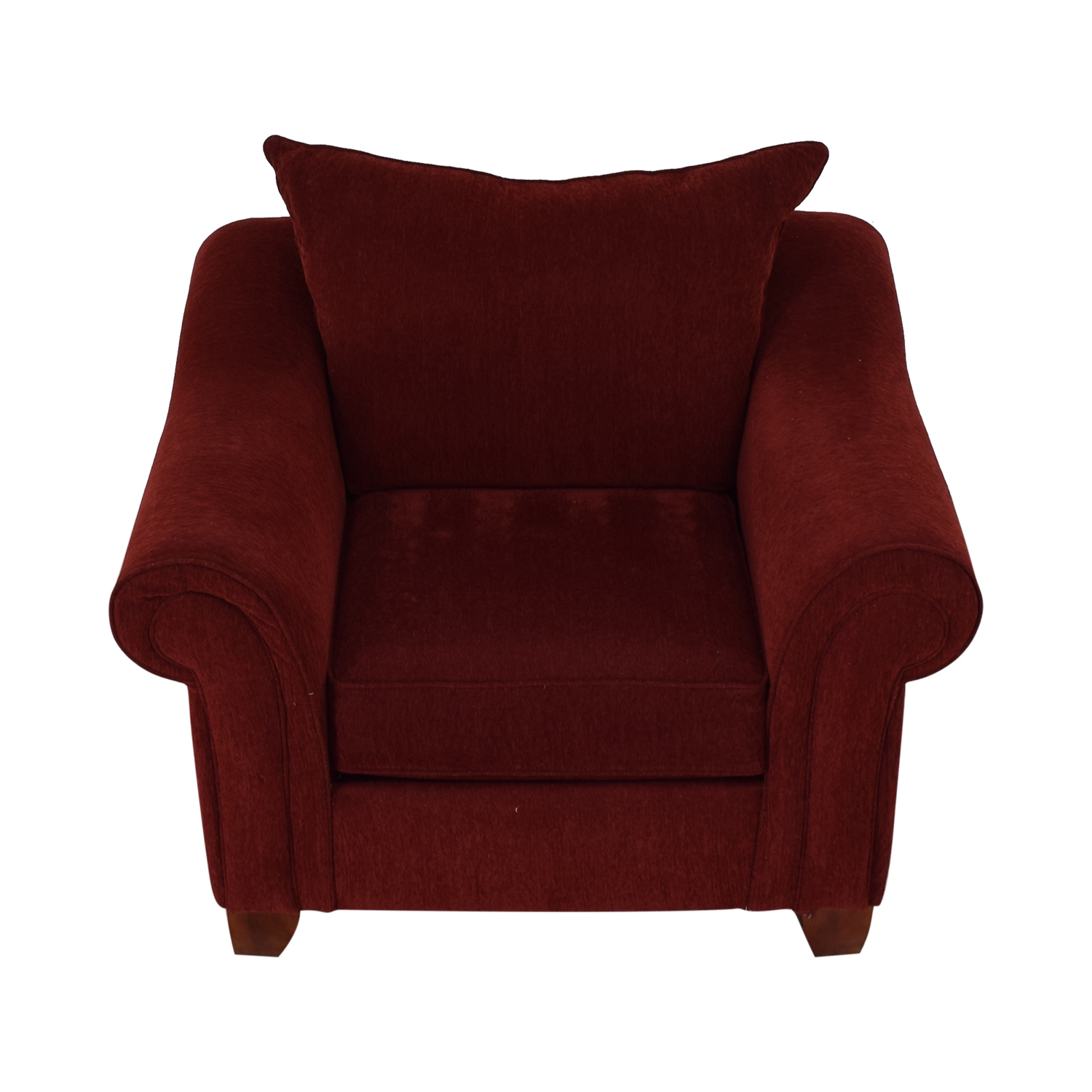 buy Raymour & Flanigan Red Arm Accent Chair Raymour & Flanigan