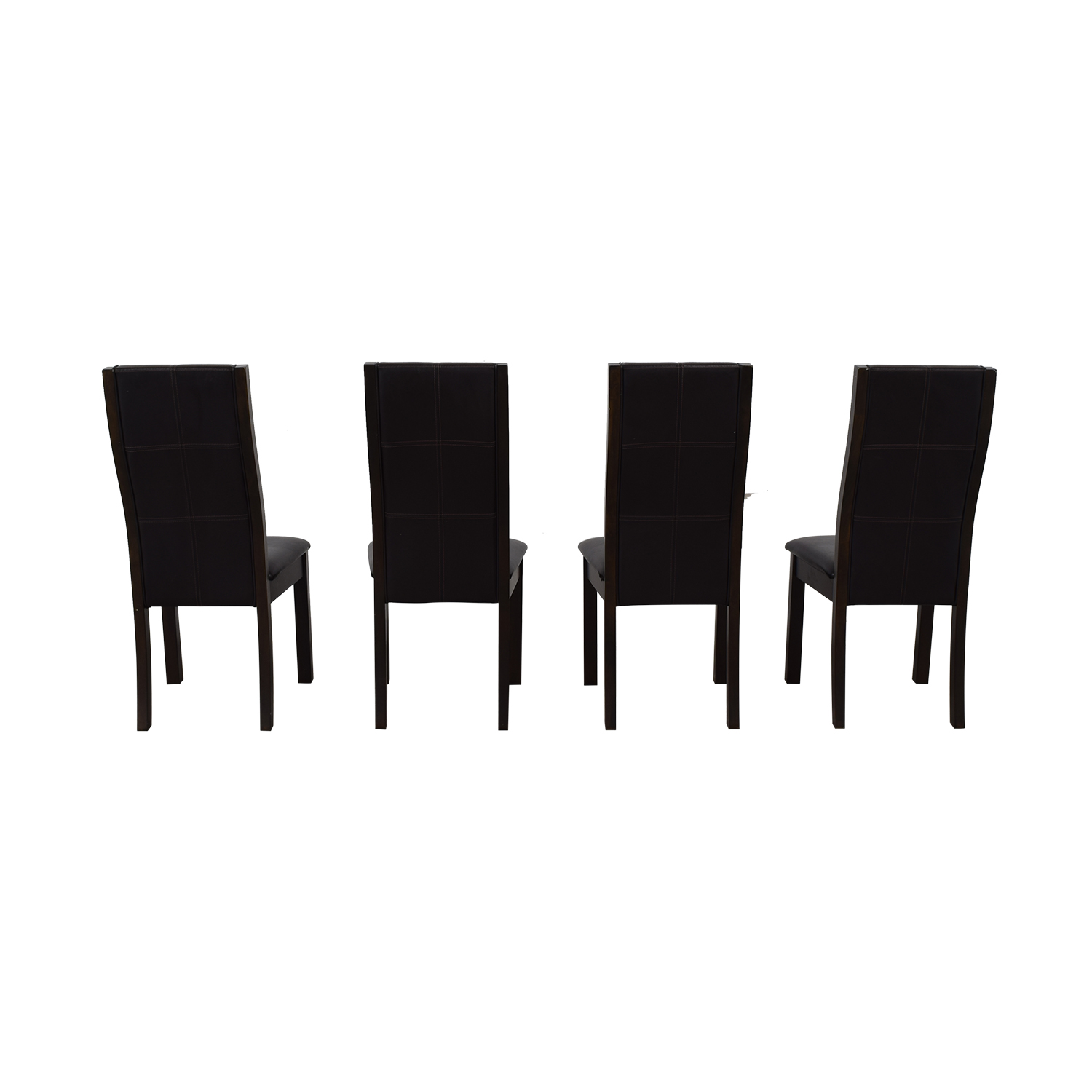 shop Raymour & Flanigan Brown Dining Chairs Raymour & Flanigan Chairs