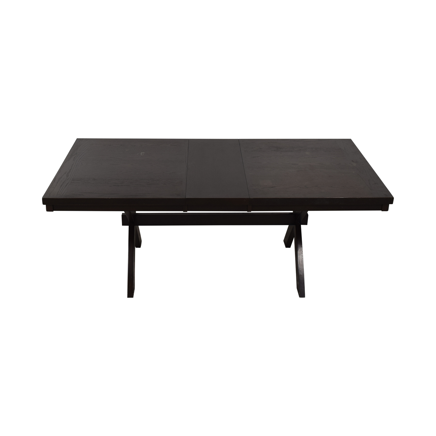 Raymour & Flanigan Raymour & Flanigan Expandable Dining Table Dinner Tables