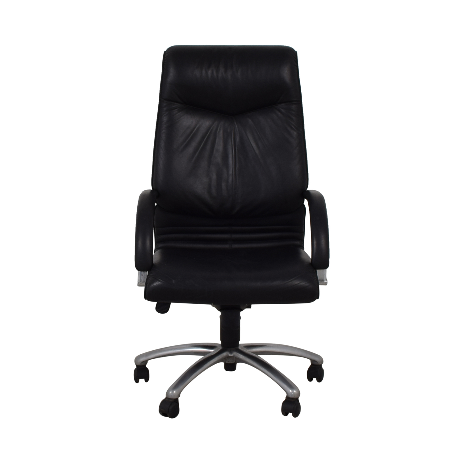 0a1bc8697fc 87% OFF - Leyform Elegant Executive Leather Office Chair   Chairs