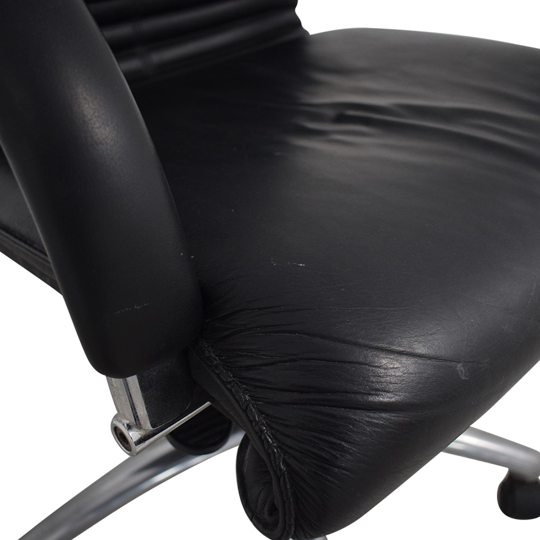 Leyform Elegant Executive Leather Office Chair black
