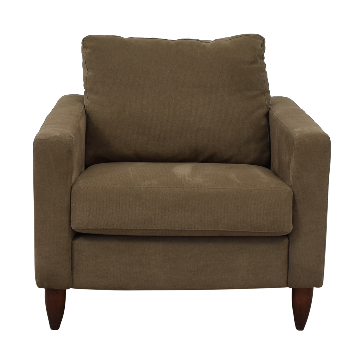 Crate & Barrel Crate & Barrel Accent Chair brown
