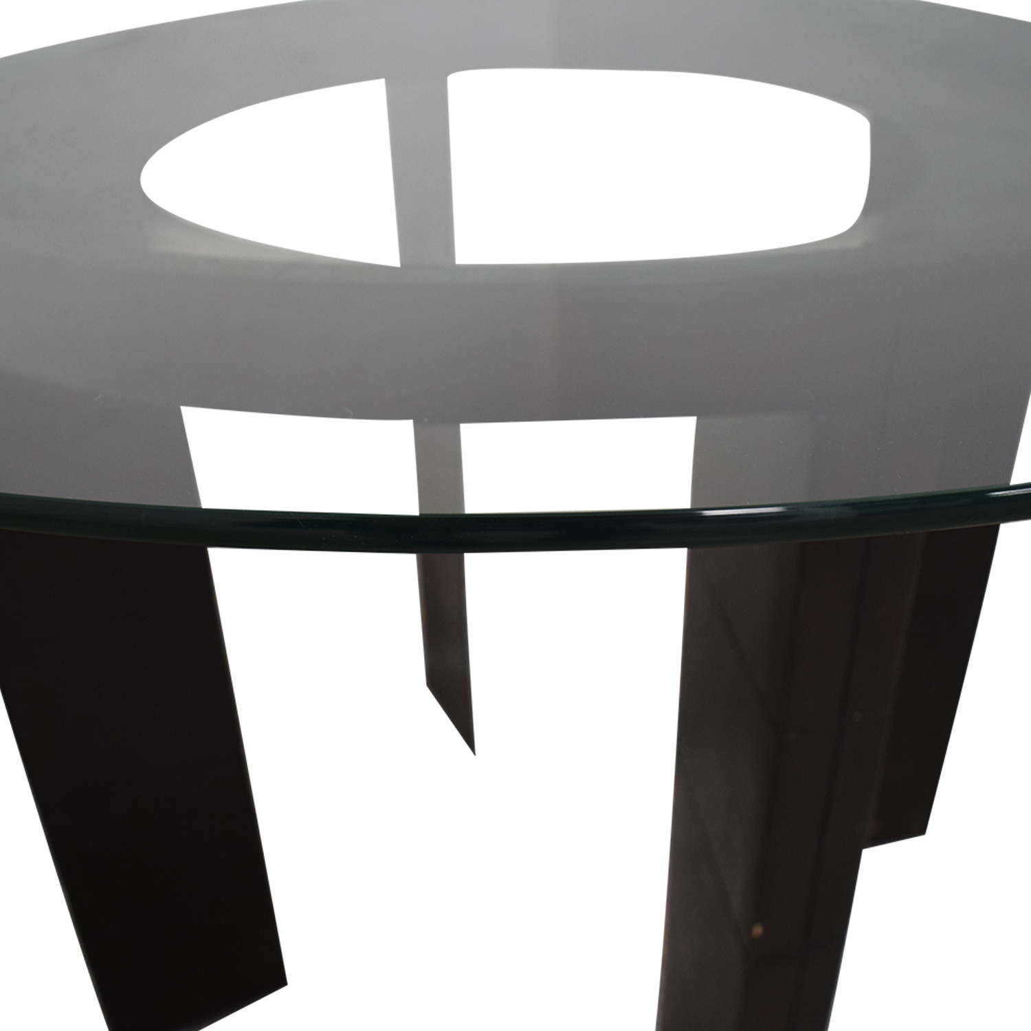 buy Glass Round Dining Table