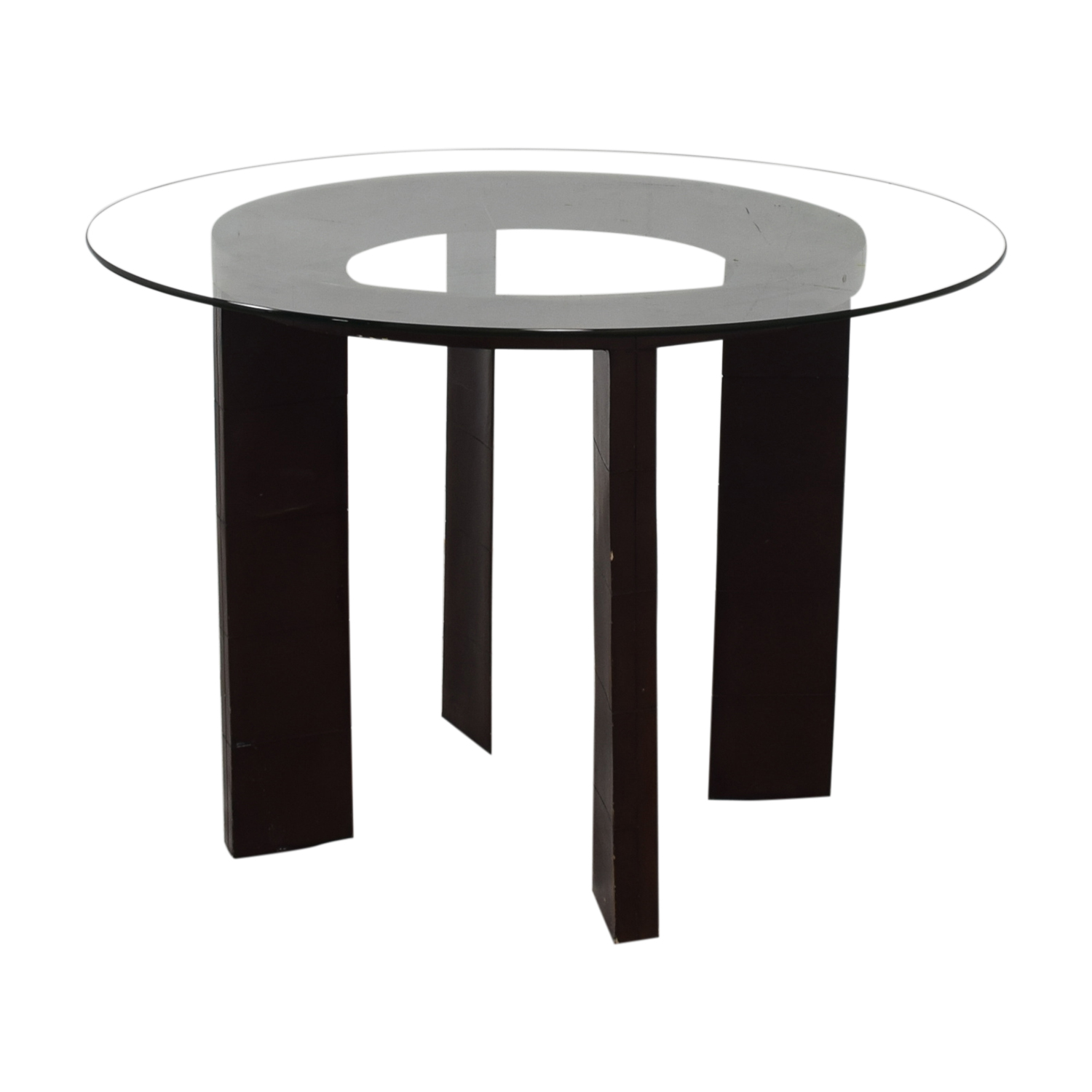 Glass Round Dining Table / Coffee Tables