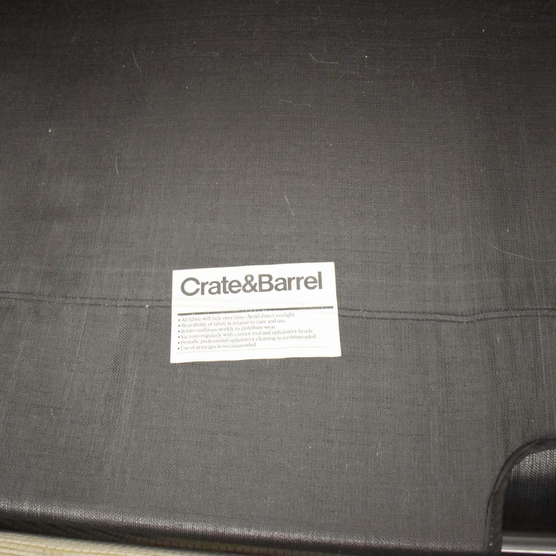 buy Crate & Barrel Gaines Full Sleeper Sofa Crate & Barrel