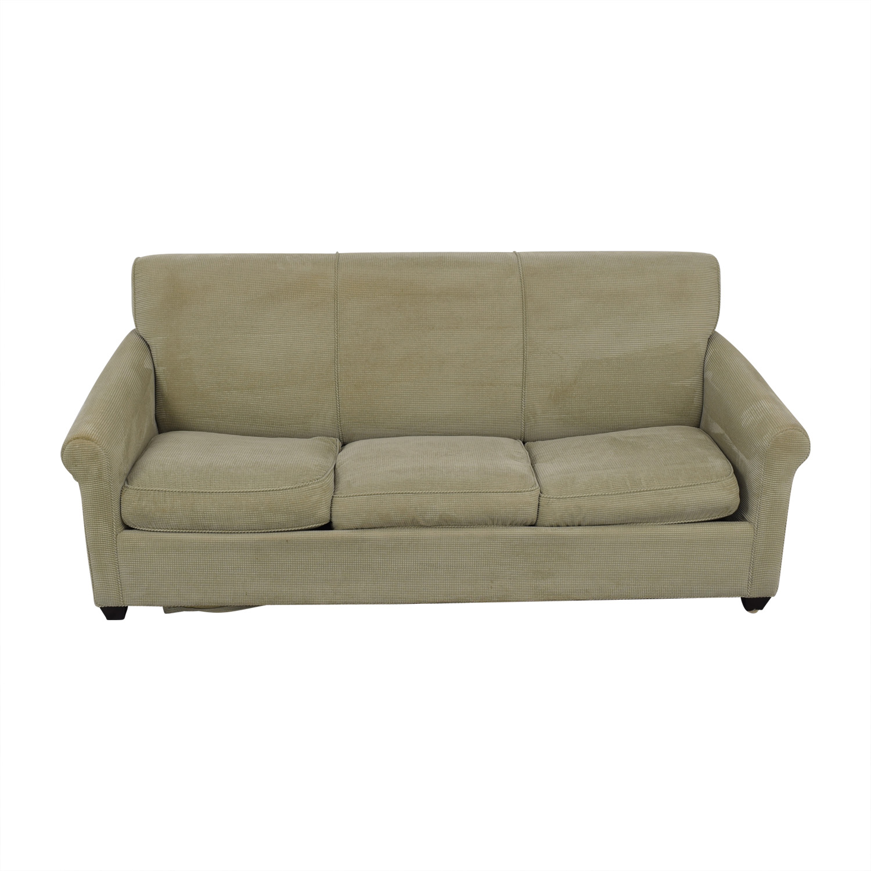 shop Crate & Barrel Gaines Full Sleeper Sofa Crate & Barrel Classic Sofas