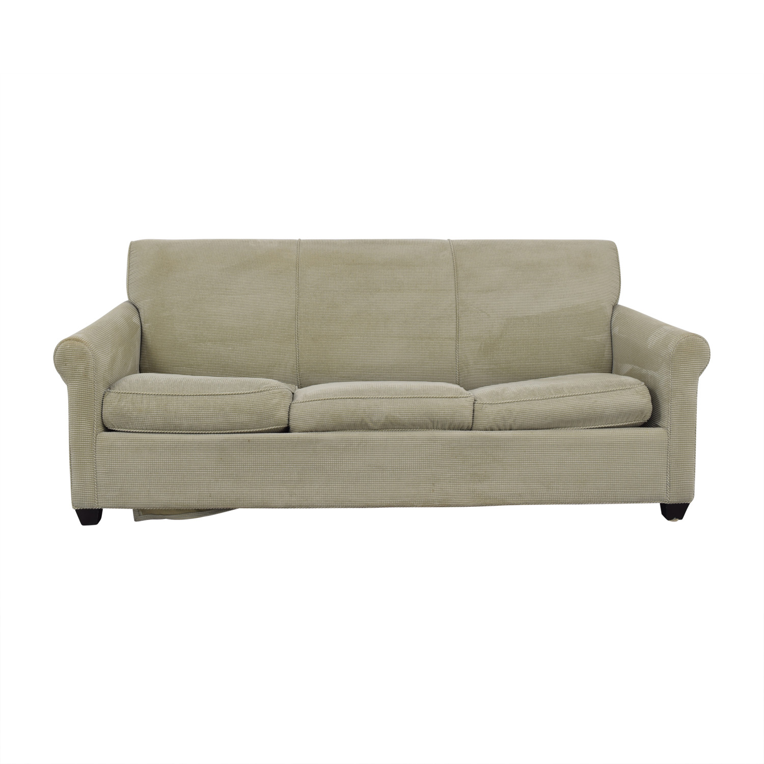 shop Crate & Barrel Gaines Full Sleeper Sofa Crate & Barrel Classic Sofas