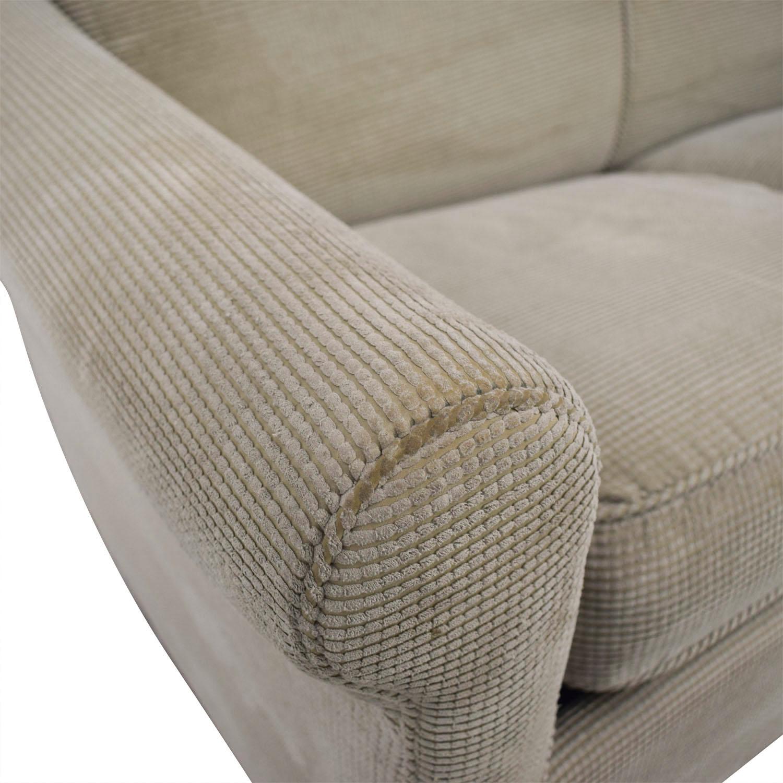 Fantastic 90 Off Crate Barrel Crate Barrel Gaines Full Sleeper Sofa Sofas Dailytribune Chair Design For Home Dailytribuneorg
