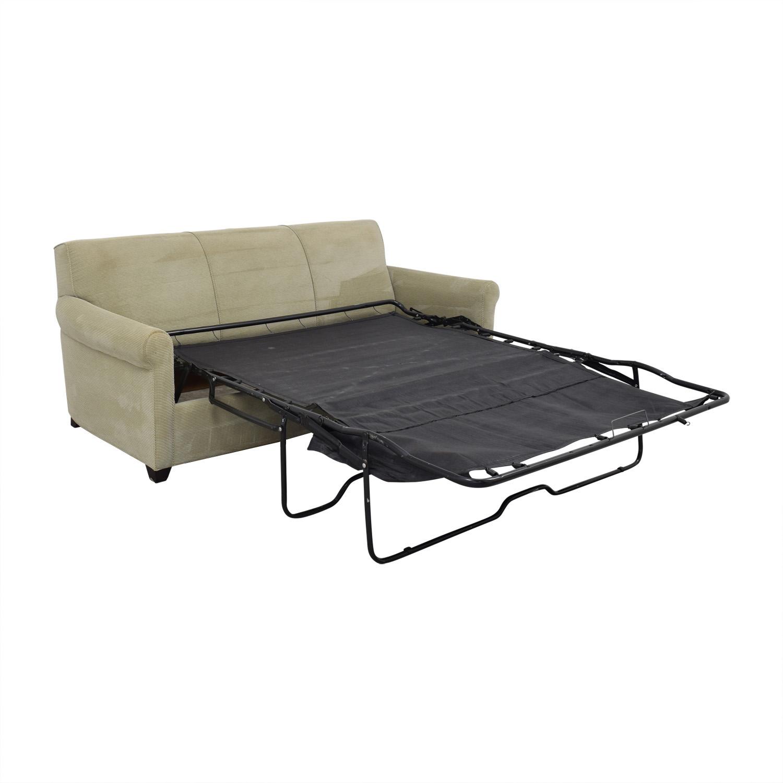 shop Crate & Barrel Gaines Full Sleeper Sofa Crate & Barrel Sofas