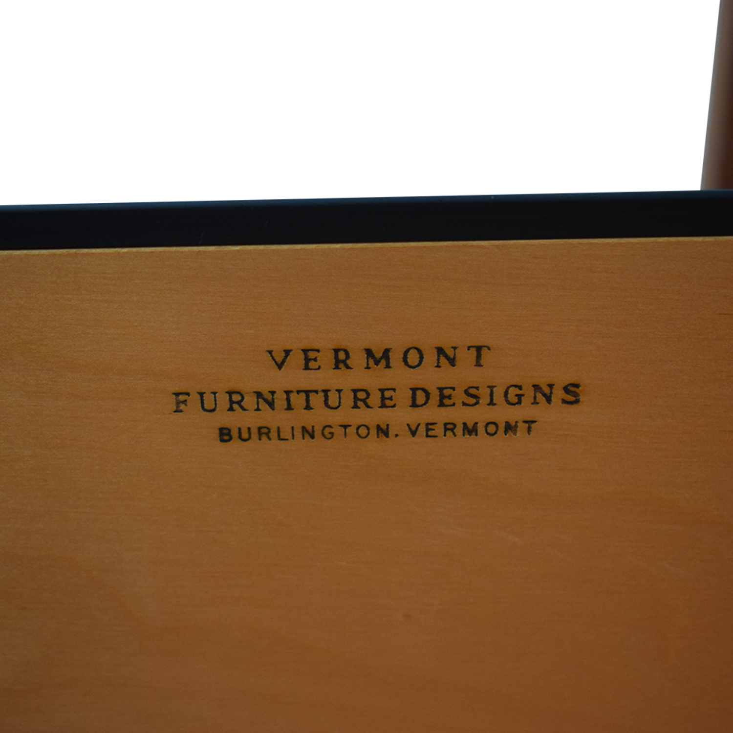Vermont Furniture Designs Vermont Furniture Designs Shaker Two-Drawer with Keyboard Tray Desk Home Office Desks