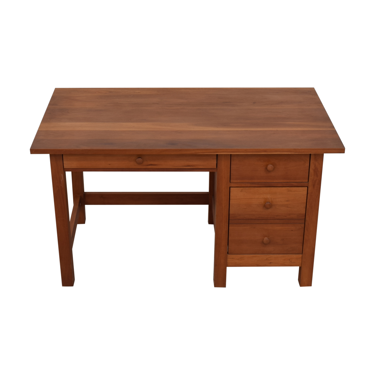 Vermont Furniture Designs Vermont Furniture Designs Shaker Two-Drawer with Keyboard Tray Desk used