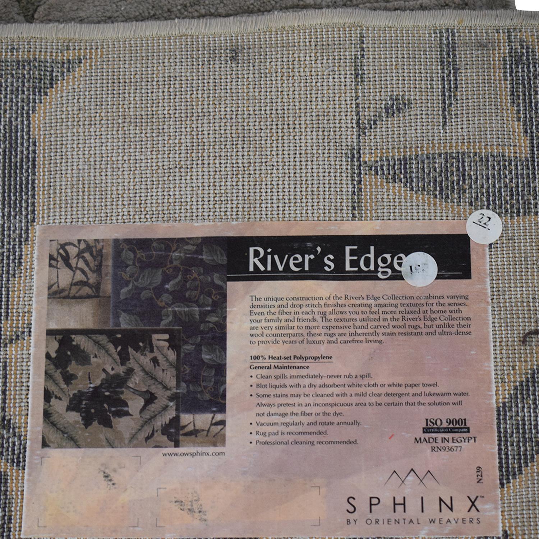 Oriental Weavers Oriental Weavers Green Vines Rug second hand