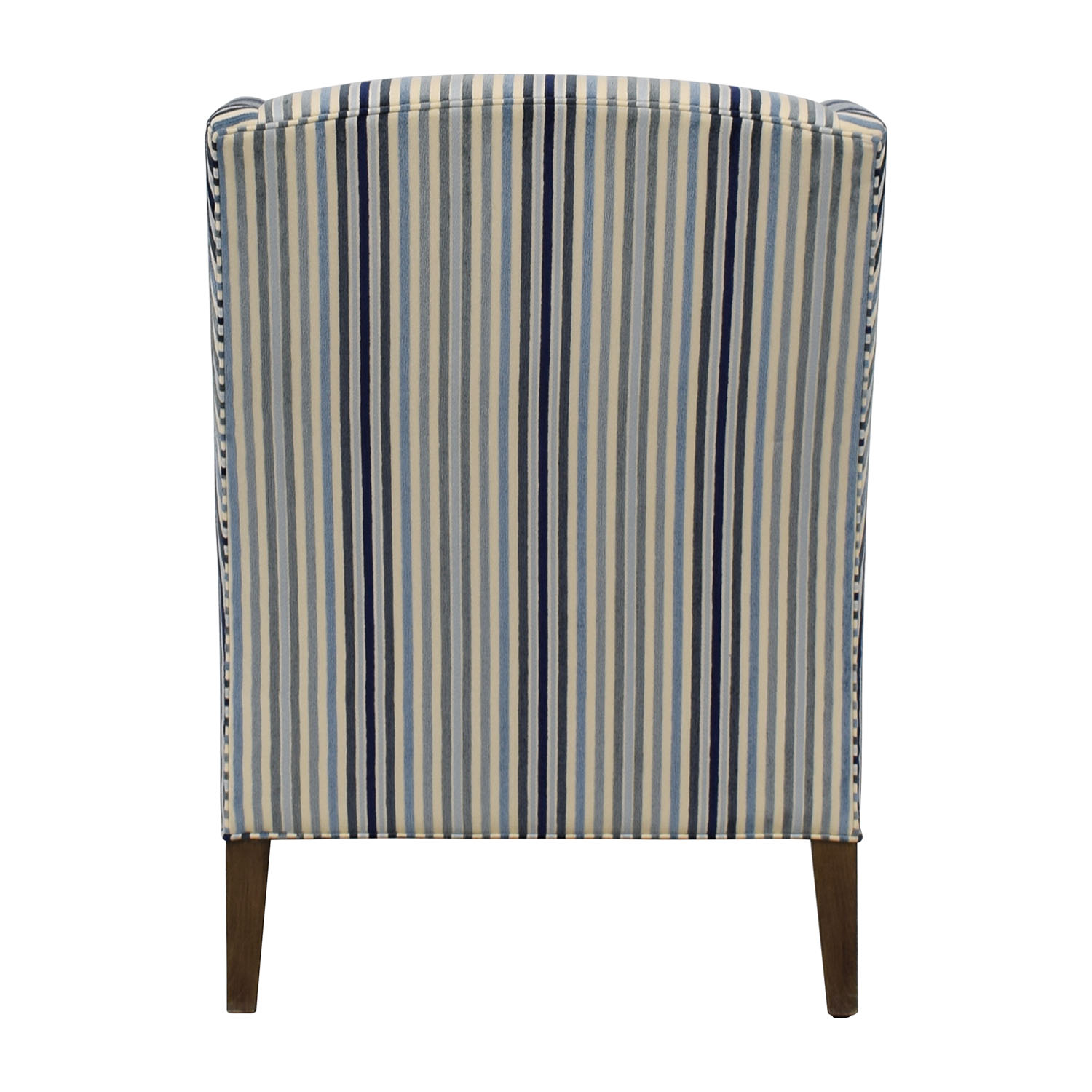 Custom Fabric Accent Chairs.87 Off Ethan Allen Ethan Allen Custom Upholstered Striped Accent Chair Chairs