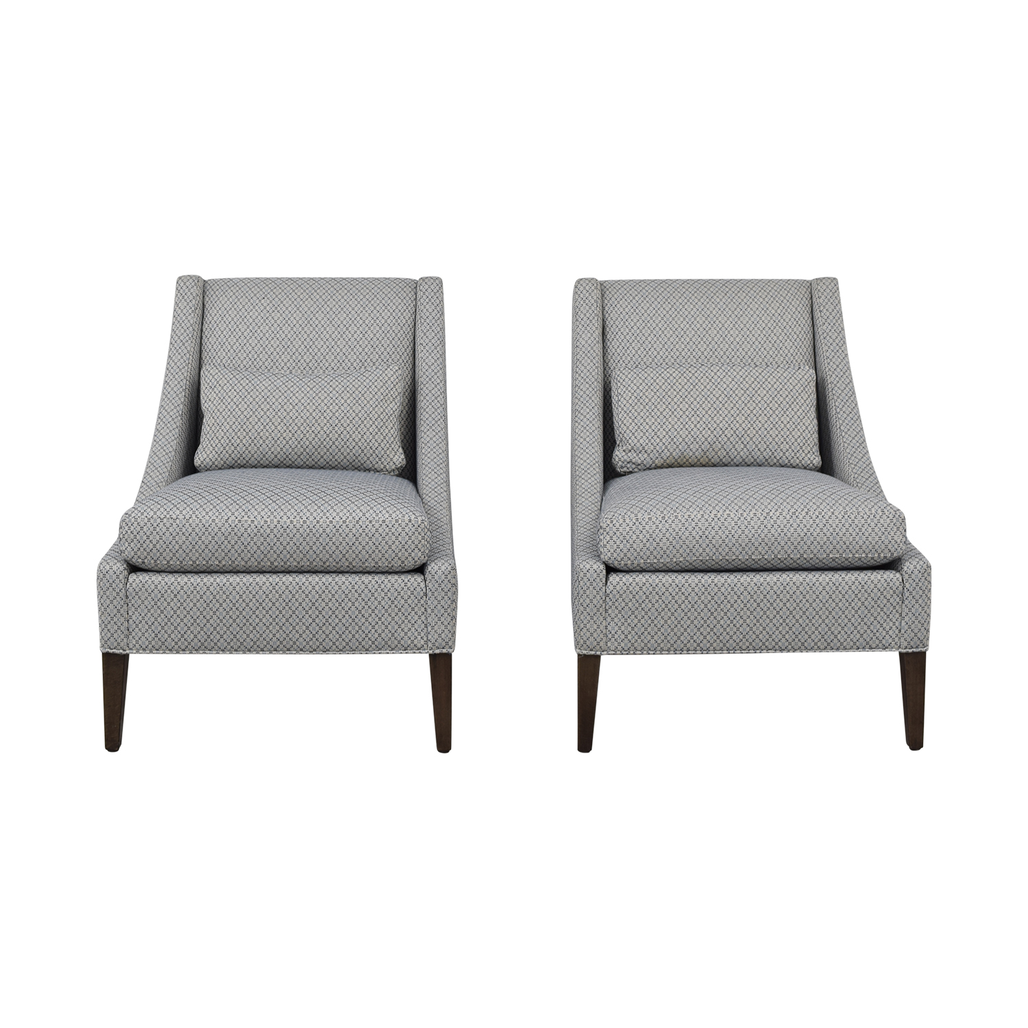 Ethan Allen Ethan Allen Slipper Chair Set discount