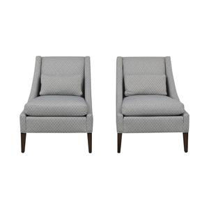 buy Ethan Allen Slipper Chair Set Ethan Allen