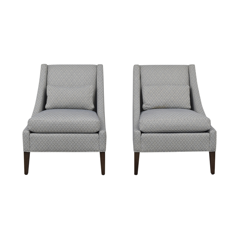 buy Ethan Allen Slipper Chair Set Ethan Allen