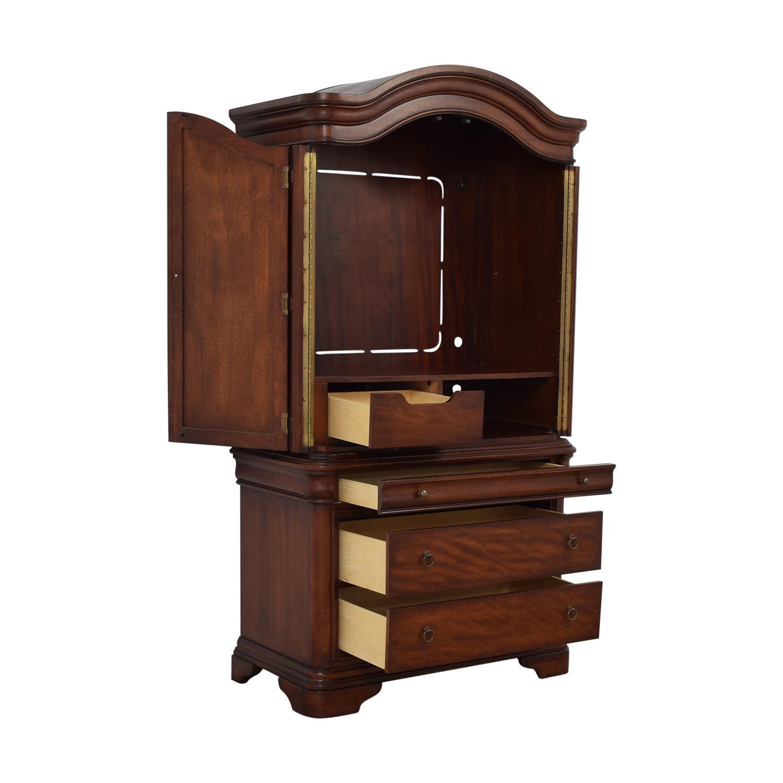 buy Macy's Four-Drawer Bordeaux TV Armoire Macy's Storage
