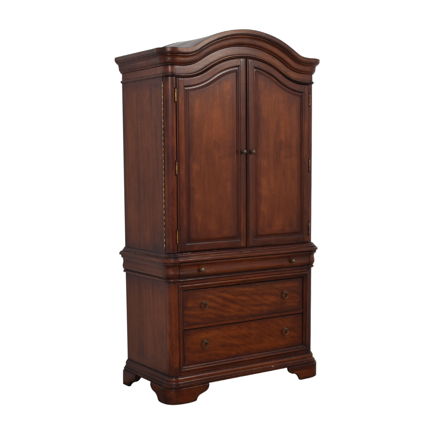 Macy's Macy's Four-Drawer Bordeaux TV Armoire used