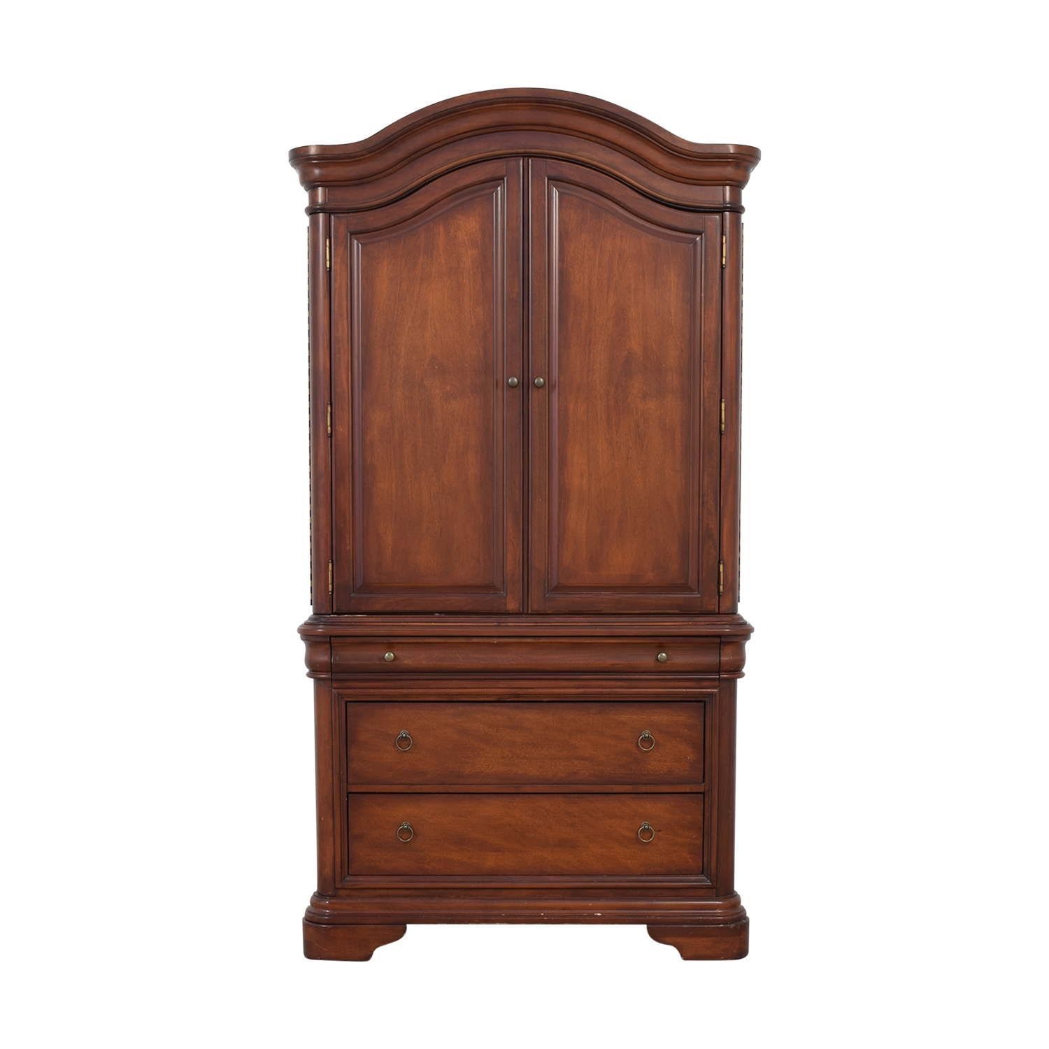 Macy's Macy's Four-Drawer Bordeaux TV Armoire second hand
