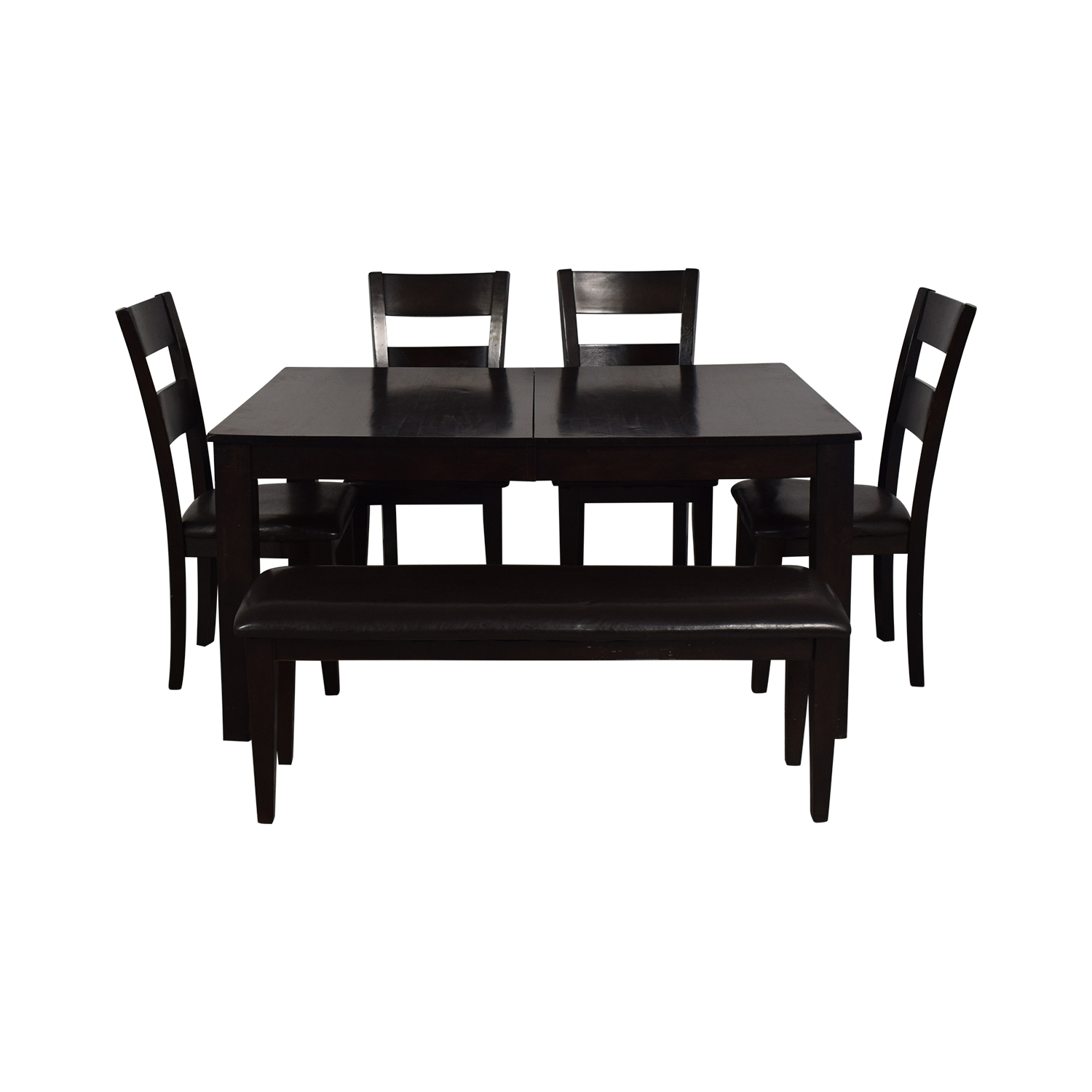 Raymour & Flanigan Raymour & Flanigan Kona Six Piece Dining Set on sale