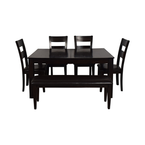 Raymour & Flanigan Raymour & Flanigan Kona Six Piece Dining Set price