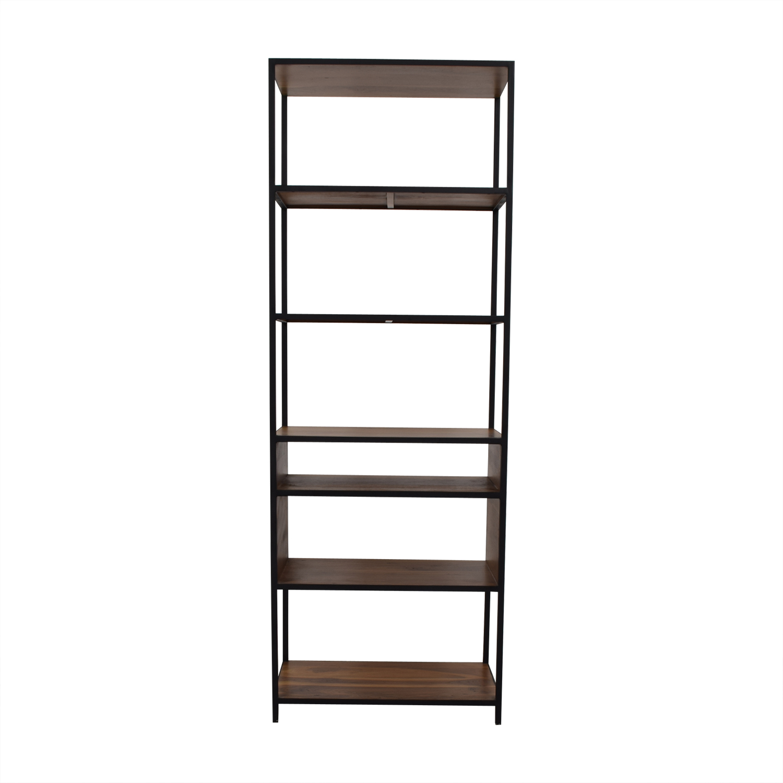 Crate & Barrel Knox Tall Open Bookcase Crate & Barrel