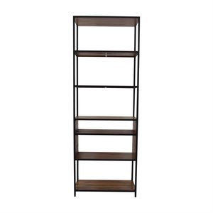 Crate & Barrel Crate & Barrel Knox Tall Open Bookcase second hand
