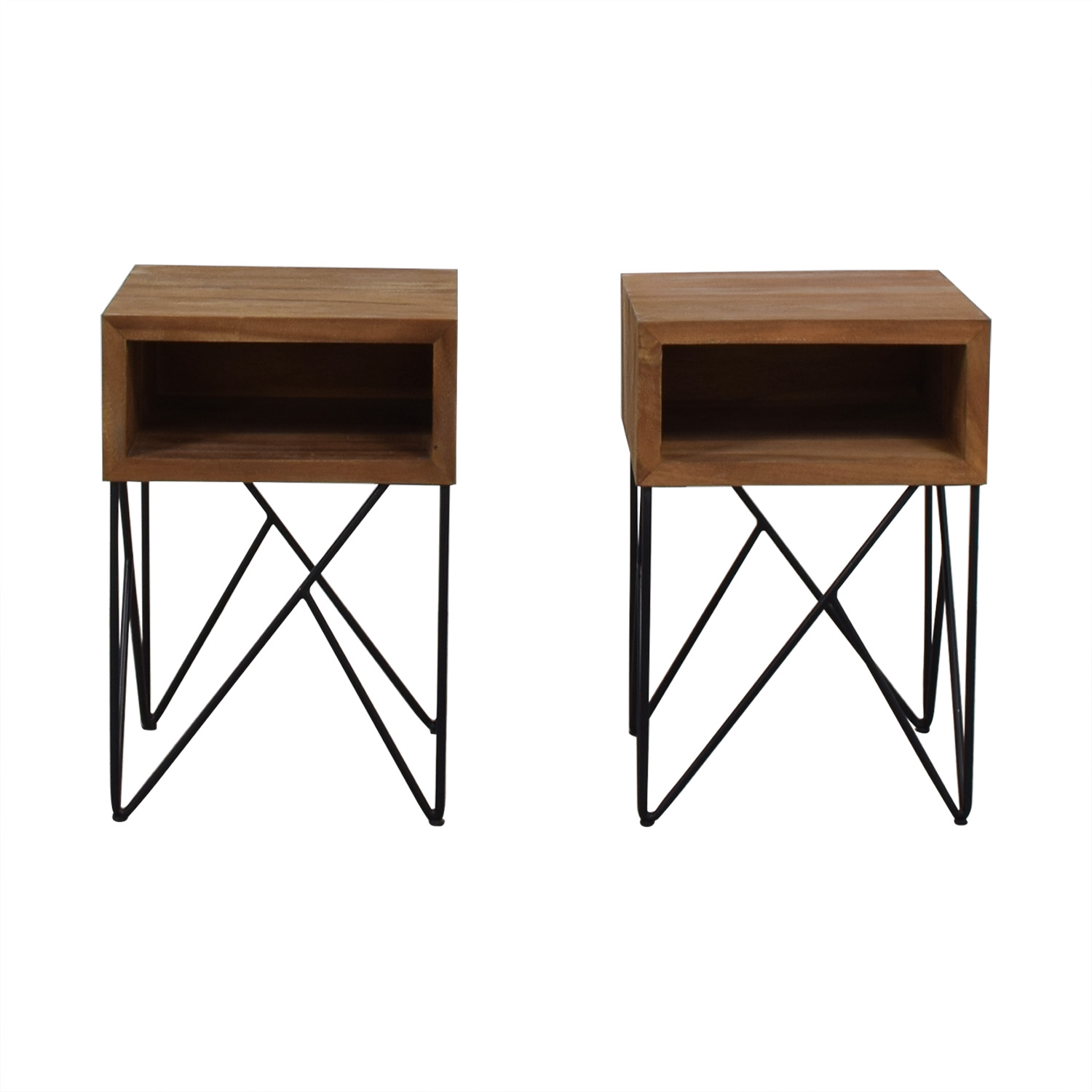 Crate & Barrel Crate & Barrel Dixon Side Tables dimensions