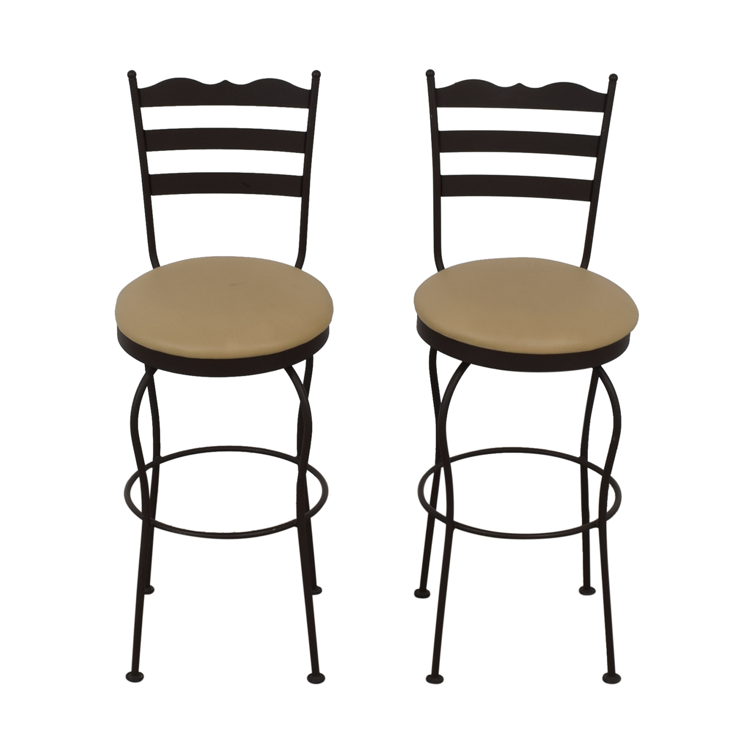 buy Brown Swivel Bar Stools  Chairs