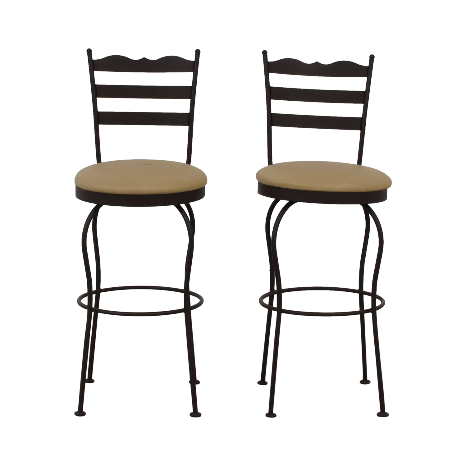 buy  Brown Swivel Bar Stools online
