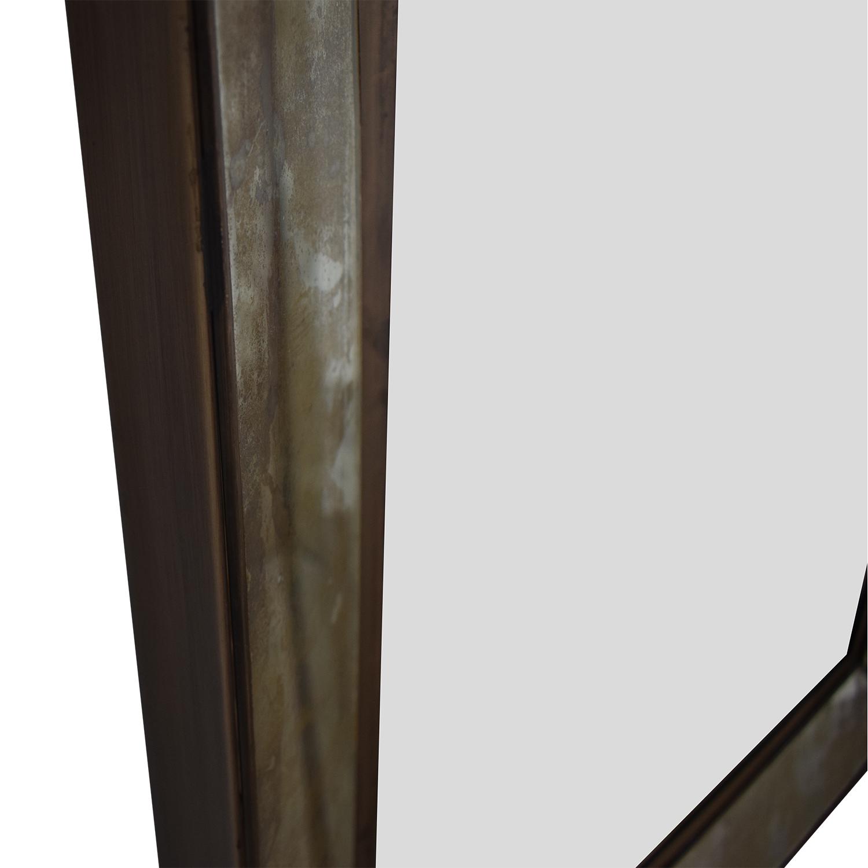 Crate & Barrel Dubois Square Wall Mirror / Decor