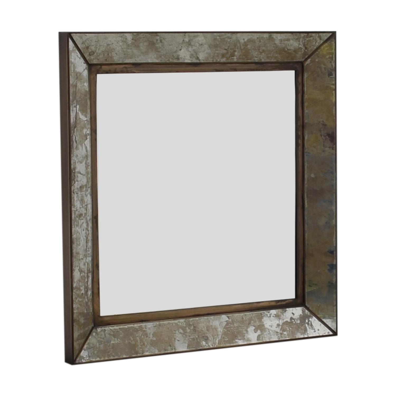 Crate & Barrel Dubois Square Wall Mirror sale