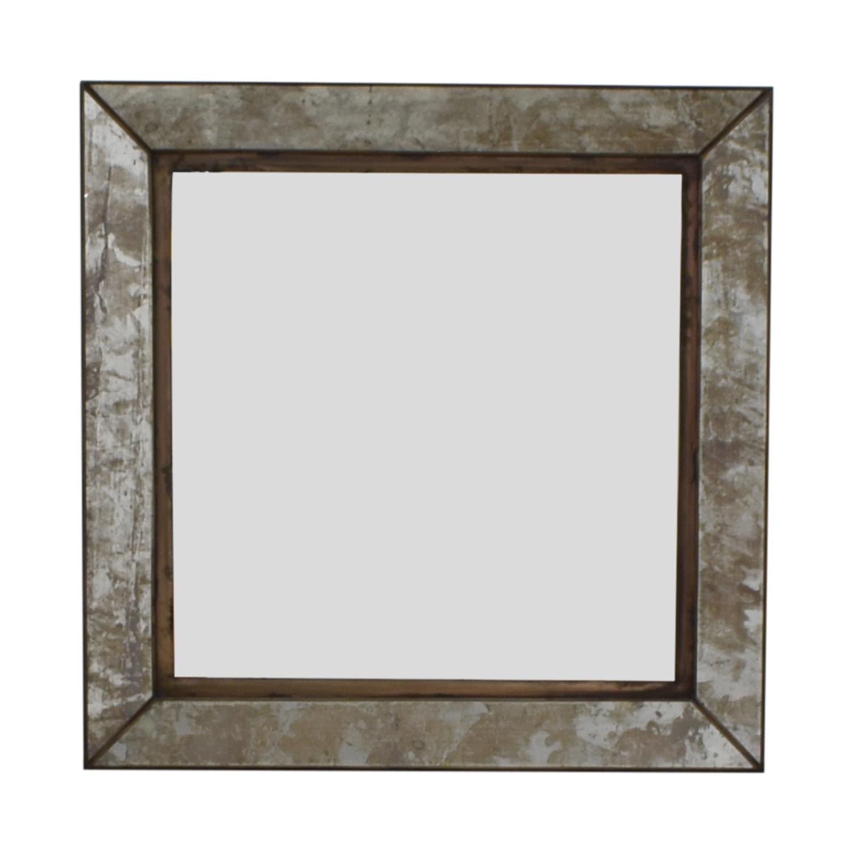 buy Crate & Barrel Dubois Square Wall Mirror Crate & Barrel Mirrors