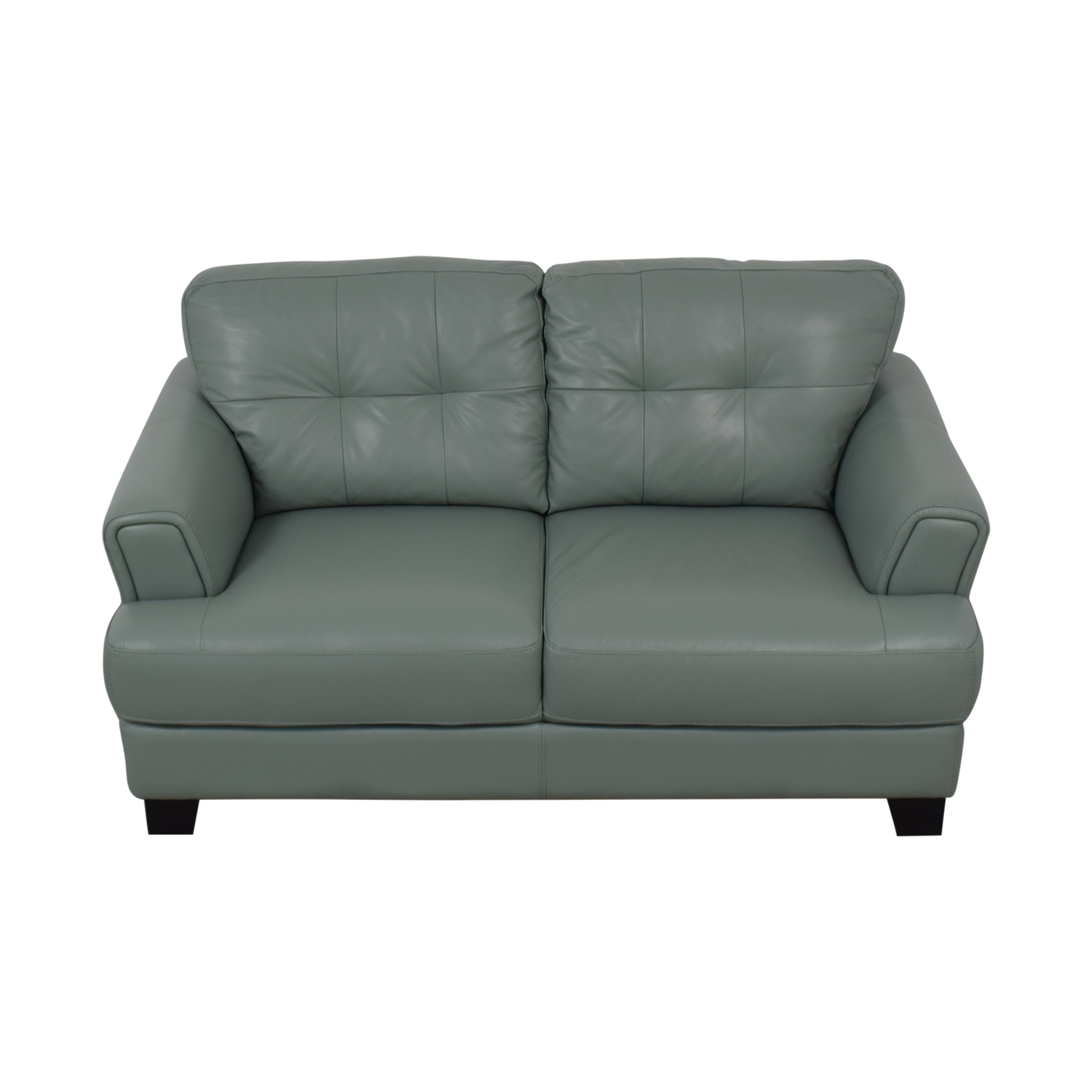 Chateau D'Ax Chateau D'Ax Seafoam Green Tufted Loveseat on sale