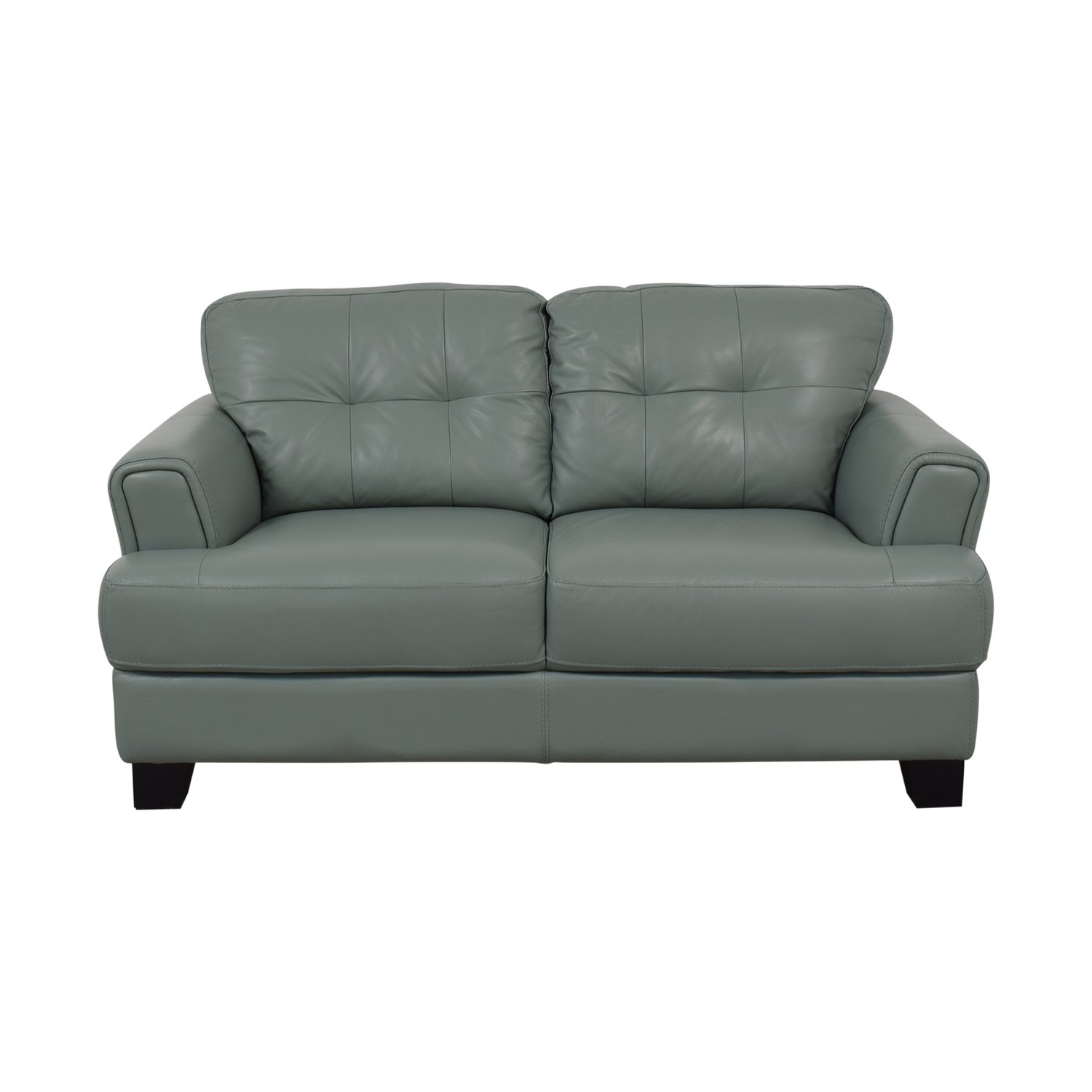 buy Chateau D'Ax Chateau D'Ax Seafoam Green Tufted Loveseat online