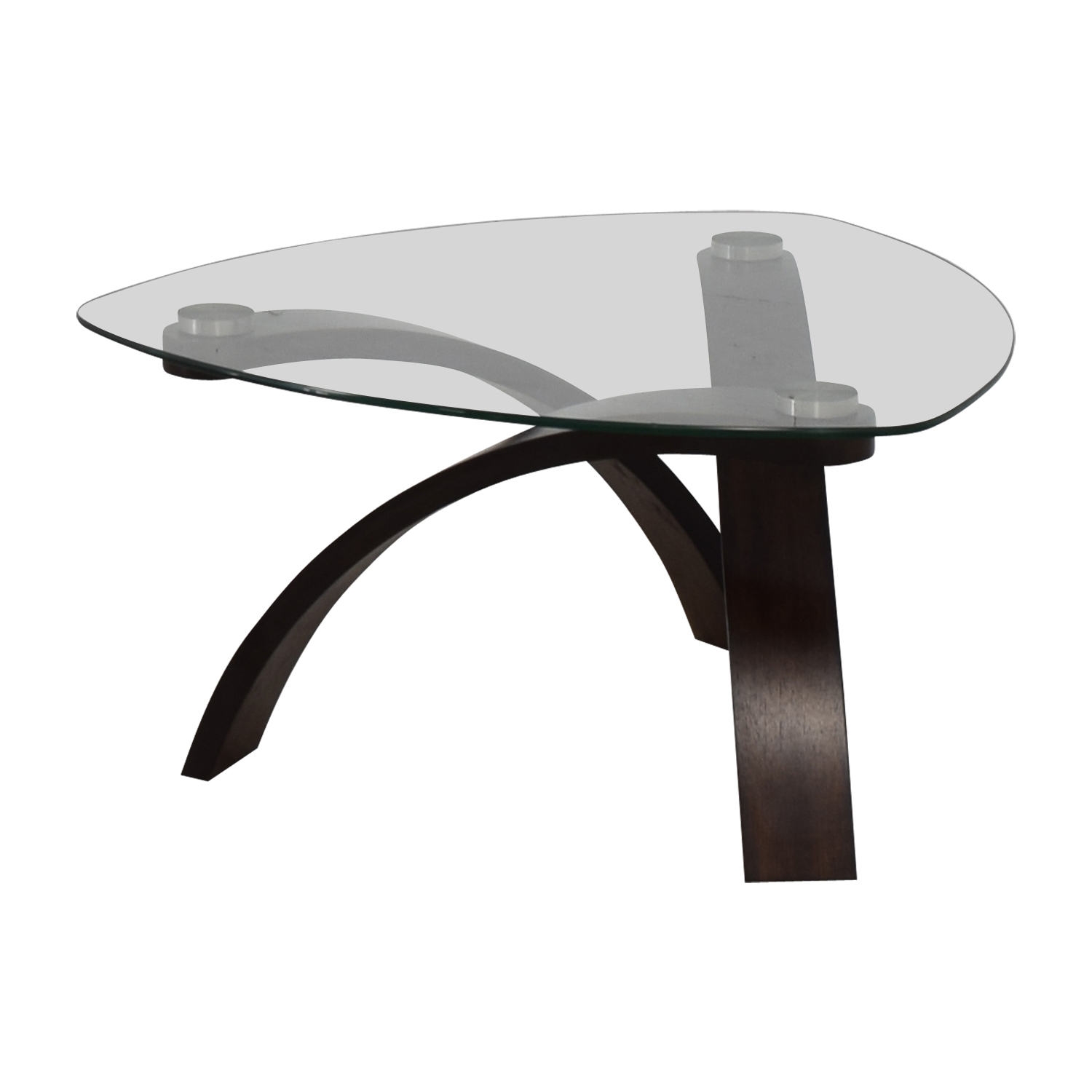 Raymour & Flanigan Raymour & Flanigan Allure Glass Coffee Table price