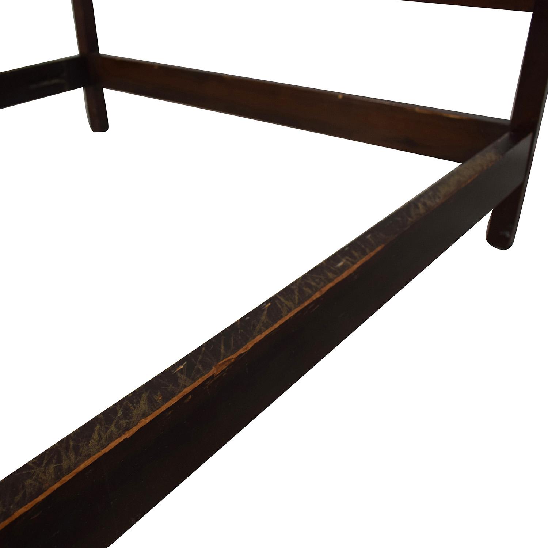 Virginia Craftsman Vintage Full Bed Frame second hand