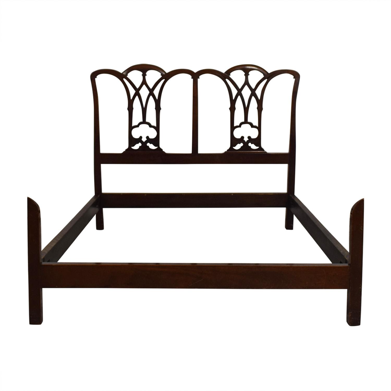 Virginia Craftsman Vintage Full Bed Frame Bed Frames