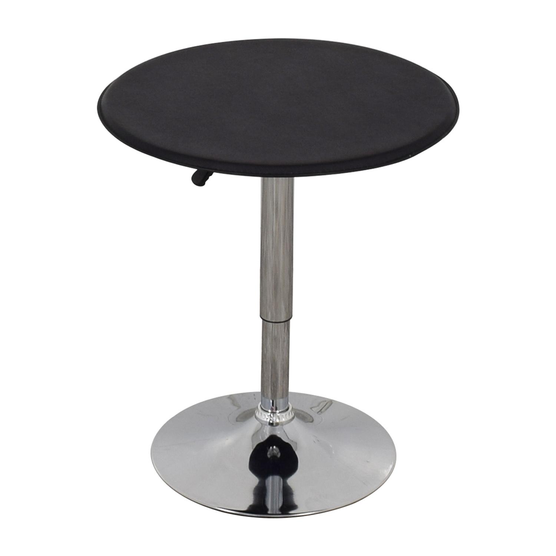 Black Modern Adjustable Pub Table sale