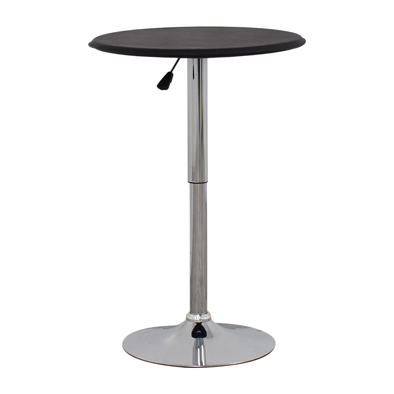 buy  Black Modern Adjustable Pub Table online