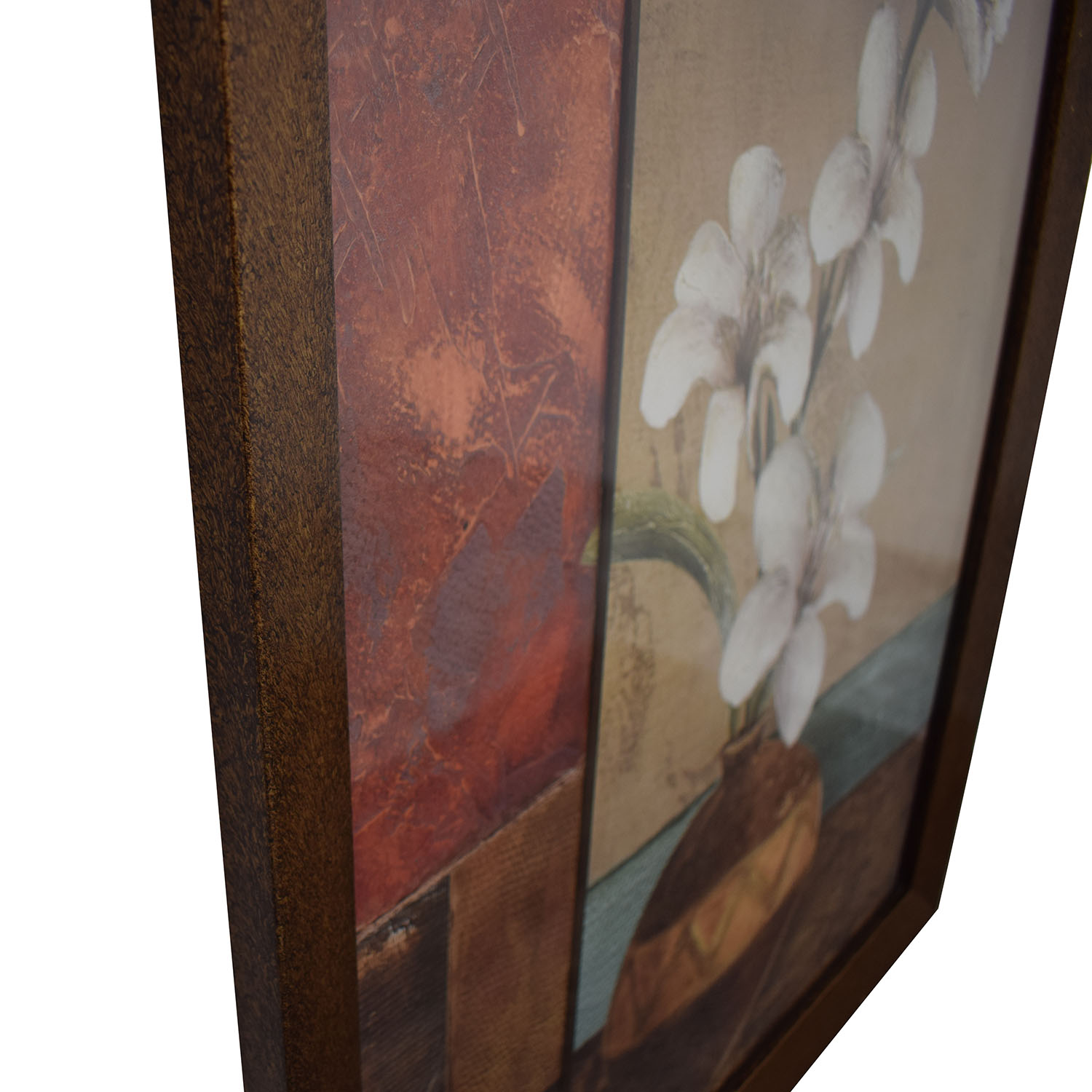 Floral Framed Wall Art dimensions